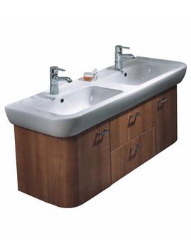 VitrA Retro 5222 Double Washbasin With Under Cupboard Unit - 80485