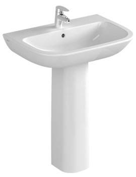 Related VitrA S20 1 Tap Hole Basin 65cm - 5504L003-0999