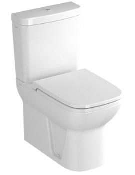 VitrA S20 Close Coupled BTW WC With Cistern And Seat - 5512L003-0585