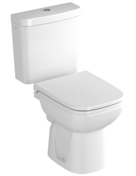 S20 Close Coupled WC With Cistern And Seat - 5511L003-0075