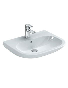 SoftMood 600mm Washbasin White - T055401