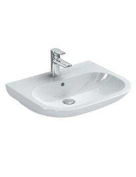 SoftMood 600mm Washbasin White - T055401