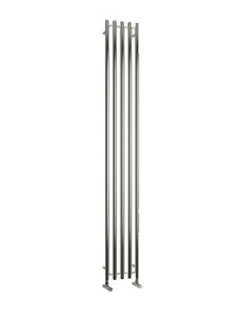 Related Reina Broni Designer Radiator 260 x 1200mm Polished - RNS-BR2612