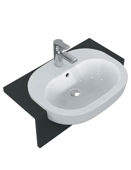 SoftMood 55cm Semi Countertop Basin - T055301