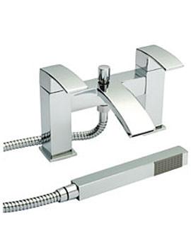 Razor 2 TH Bath Shower Mixer Tap Chrome