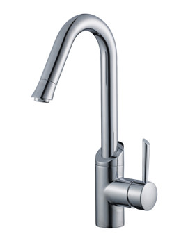 Kori Mono Kitchen Sink Mixer Tap With Swivel Spout - CUC-1004