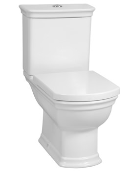 VitrA Serenada Close Coupled WC-With Cistern And Seat - 4160B003-7200