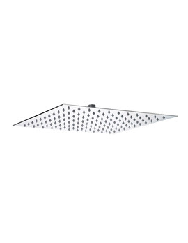 Hudson Reed Square Fixed Shower Head 400mm - HEAD45