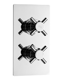 Kristal Twin Concealed Thermostatic Shower Valve - KRI3210