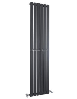 Sloane Single Panel Radiator 354x1800mm Anthracite-HLA72