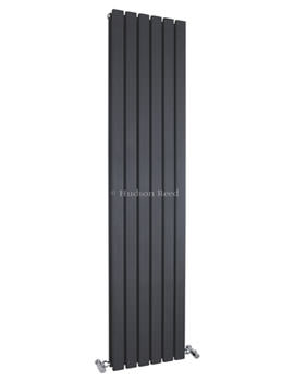 Sloane Double Panel Radiator 354x1800mm Anthracite-HLA74
