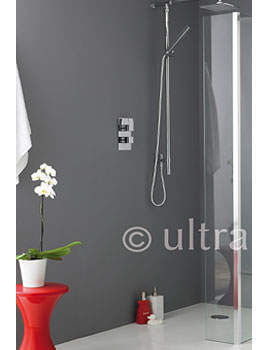 Ultra Wetroom Shower Return Screen 215 x 1950mm - WRSB250