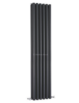 Savy Double Panel Radiator 354x1800mm Anthracite-HLA92
