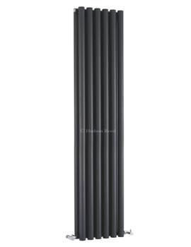 Savy Double Panel Radiator 354x1800mm Anthracite-HLA92