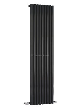 Parallel Black Designer Radiator 342 x 1800mm - HLB90