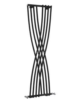 Xcite Black Designer Radiator 450 x 1775mm - HLB94