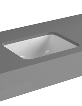 VitrA S20 Commercial 48cm Under-Counter Basin Square - 5475