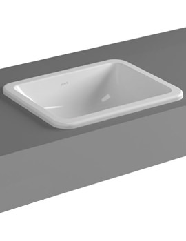 VitrA Commercial S20 50cm Countertop Basin 1TH - 5464