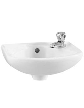 VitrA Arkitekt 36cm Cloakroom Basin With 2TH - 6140