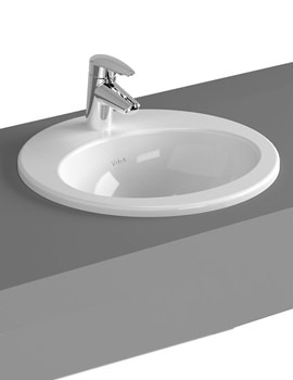 VitrA S20 Commercial 48cm Countertop Basin Oval - 5467