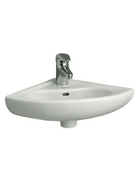 Arkitekt 400mm Middle Tap Hole Corner Vanity Basin