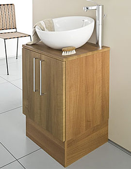Roca Smooth Base Unit For On Countertop Basin 470mm - 856BU10MW