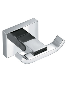 Level Double Robe Hook - LEV-186