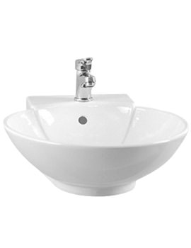 VitrA Countertop Basin 450mm With Overflow - 6165B003-0001