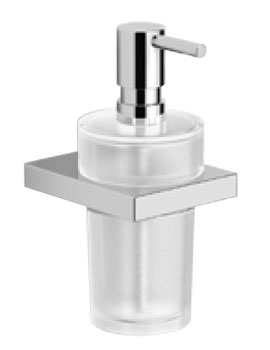 Essential Urban Square Soap Dispenser With Glass Pump - EA31021