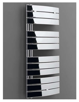 Aries Curved Chrome Towel Warmer 550 x 1080mm - 148251