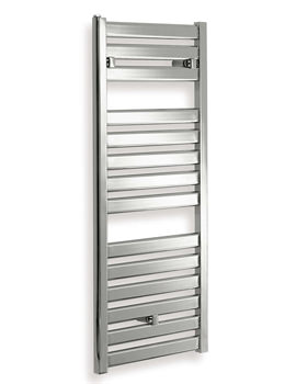Essential Capricorn Straight Chrome Towel Warmer 500 x 1147mm - 148253