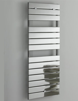 Libra Straight Chrome Towel Warmer 510 x 1200mm - 148255