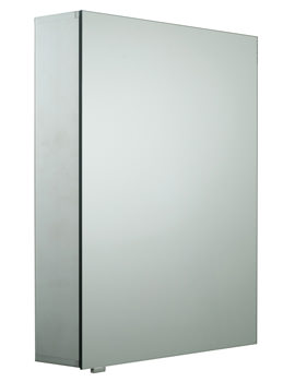 Reflection Single Door Mirror Cabinet 520 x 670mm - CAB-SGL-MIR