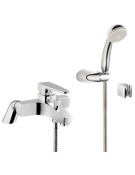 Q-Line Bath Shower Mixer Tap Chrome - A40783VUK