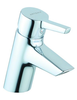 Slope Basin Mixer Tap Chrome Without Waste - A40463VUK