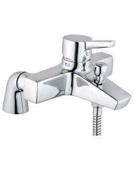 Slope Bath Shower Mixer Tap With Showerhead - A40470VUK