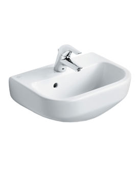 Ideal Standard Playa 45cm Handrinse 1 Taphole Basin With Overflow