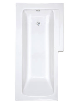 Neon Right Handed Shower Bath 170x85x75cm - 55380001000