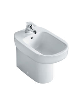 Ideal Standard Playa Floor Standing Bidet With 1 Tap Hole - J468401