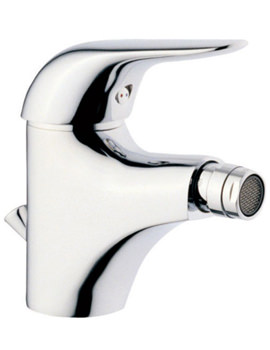 VitrA Ares Bidet Mixer Tap With Pop Up Waste Chrome - 41620
