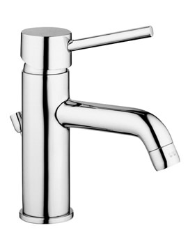 VitrA Minimax S Basin Mixer Tap With Pop-up Waste Chrome - A41986VUK