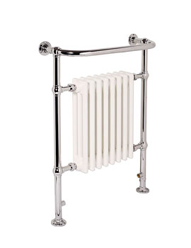 Ravenna Plus Traditional Heated Towel Rail 955mm x 845mm - CR8