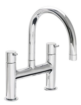 VitrA Minimax S Bath Filler Tap With Swivel Spout Chrome - A42113