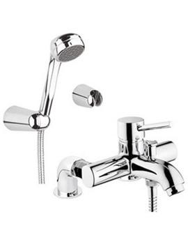 Minimax S Bath Shower Mixer Tap With Showerhead - A42112VUK