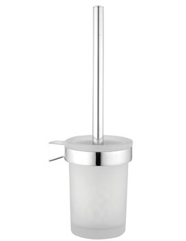 VitrA Slope Toilet Brush Holder Without Cover Chrome - A44985EXP
