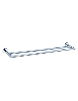VitrA Minimax Double Towel Rail 50cm Chrome - A44794EXP