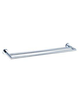VitrA Minimax Double Towel Rail 50cm Chrome - A44794