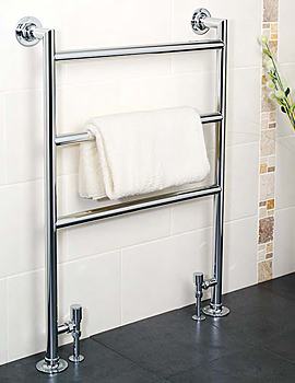 Apollo Siena Traditional Towel Warmer 485 x 956mm - MF4