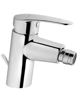 VitrA Dynamic S Bidet Mixer Tap With Pop-up Waste Chrome - A40952