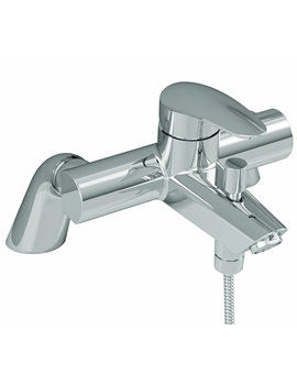 Dynamic S Bath Shower Mixer Tap With Handshower - A40964VUK